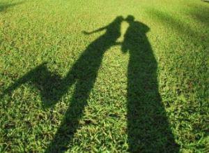 La sombra de un beso. (Ani Mendez en Flickr)
